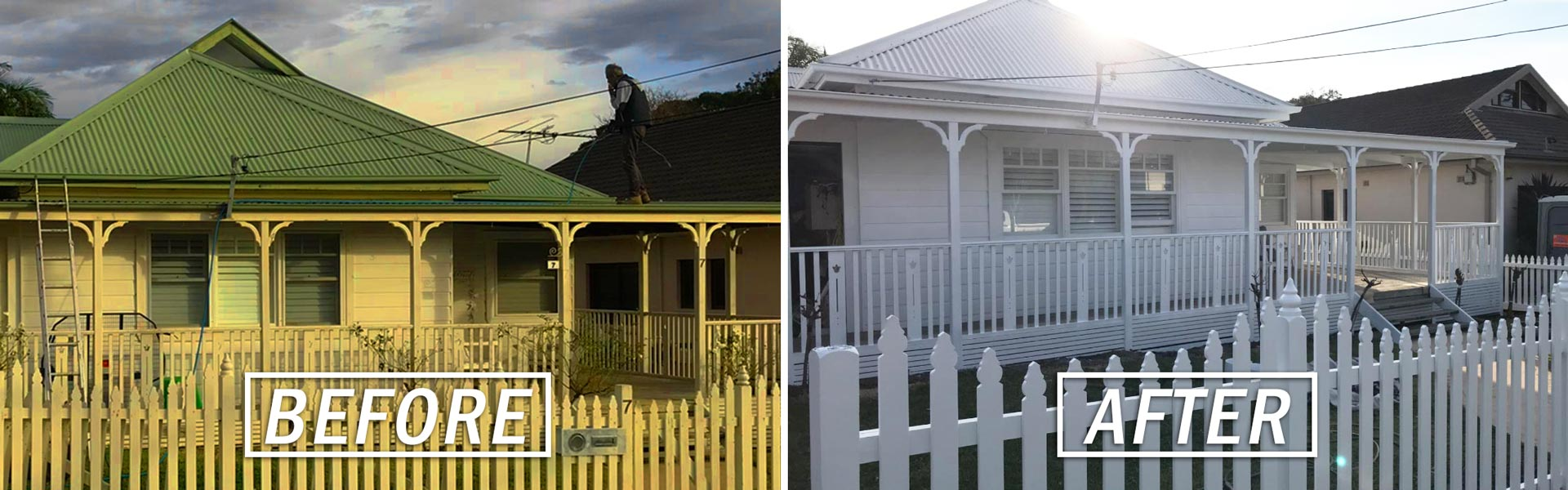 Before & After External House Paint